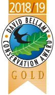 David Bellamy Conservation Award - Gold